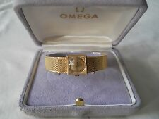OMEGA 18K Solid Yellow Gold Ladies Watch Case Papers