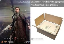 "Hot Toys Superman Man of Steel: 1/6 Jor-El Russell Crowe 12"" Figure In Stock"