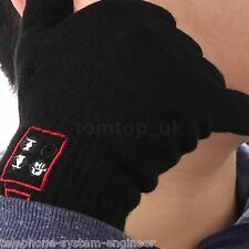 BLUETOOTH GLOVES HANDSFREE MOBILE HEADSET SPEAKER FOR SMART PHONE + TOUCH SCREEN
