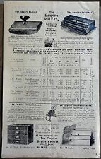 India The Empire Business House illustrated advertisement & price list