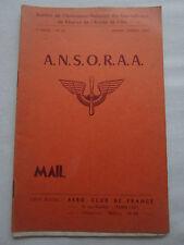 BULLETIN ANSORAA MAIL N°20 1953 SOUS OFFICIERS RESERVE ARMEE AIR METEOROLOGIE