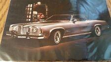 NOS 1975 Pontiac Grand Prix  Dealer  post card Free Shipping