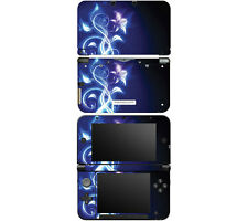 Vinyl Skin Decal Cover for Nintendo 3DS XL LL - Electric Flower