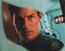TOM CRUISE Signed 10x8 Photo MISSION IMPOSSIBLE & TOP GUN COA