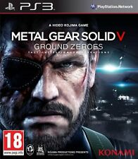 METAL GEAR SOLID V 5 GROUND ZEROES EN CASTELLANO NUEVO PRECINTADO PS3