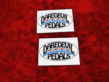 Daredevil Pedals TWO Sticker Set.....