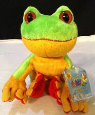 """NEW! Ganz Webkinz TREE FROG ~ New with Sealed Unused Code Tag  8"""""""