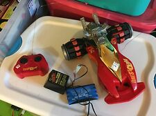 Up for Auction Is A Tonka XRC R/C TireStorm 9.6V 27mHz Red/Gold/Black 1995