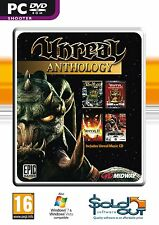 Unreal Anthology (4 PC Games) Unreal II Awakening, Tournament 2004, GOTY ~ NEW
