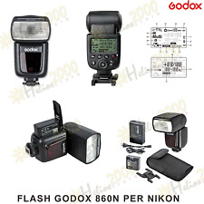 FLASH GODOX V860N i-TTL II NG58 PROF PER NIKON come Speedlight SB-900