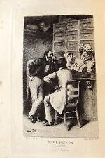 ALFRED DE MUSSET POESIES 1833-1852 EAUX FORTES GRAVURES PILLE VERS LEMERRE LIVRE