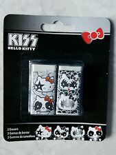 Hello Kitty Kiss set of 2 erasers