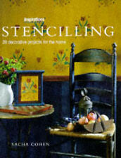 """Cohen, Sacha Stencilling: 20 Decorative Projects for the Home (Inspirations) """"AS"""