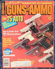 Magazine GUNS & AMMO July 1986 !! SMITH & WESSON K-38 MASTERPIECE REVOLVER !!
