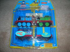 NEW THOMAS & FRIENDS TAKE ALONG BIRTHDAY PACK DIE CAST TRAINS PERCY AND THOMAS