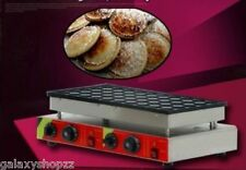New 50pcs 110v 220v Electric Dutch Pancakes Poffertjes Maker Machine Baker