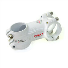 UNO Ultralight 31.8 x 60mm 7-degree Road Bike Bicycle Cycling Stem - White