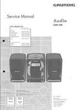 Grundig Original Service Manual für Audio CDM 700