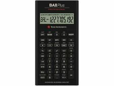 Texas Instruments BAII Plus Professional Calculator - 10 Digit(s) - Battery Powe