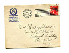 Vintage Advertising Envelope HOTEL ALBERT 1904 New York City