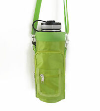 Water Bottle Carrier / Pouch / Sling for Large Bottles such as Hydro Flask 40 oz