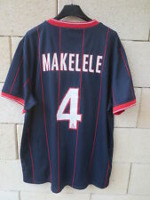 Maillot PARIS PSG 2010 NIKE MAKELELE n°4 football shirt maglia camiseta trikot