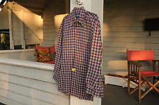 set of 2 Northeast Outfitters long sleeved men's shirt size Medium M cotton