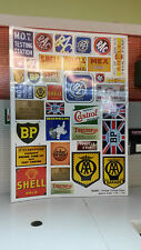 G LGB 1:24 Scale Vintage Garage Adverts Notices Signs Railway Layout Diorama