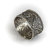 Sterling Silver Filigree Napkin Ring, c1930