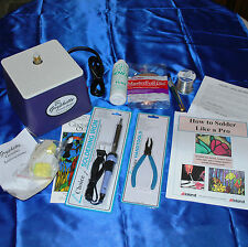 Stained Glass Supplies - Beginner Kit with GRYPHON Gryphette Grinder, TOOLS, etc