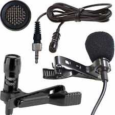 MINI CLIP ON TIE/LAPEL MICROPHONE for SENNHEISER EW100 EW300 EW500 G2 G3 SK/W EW