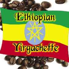 2.5 lbs Ethiopian Yirgacheffe Washed Grade 1 Light Roast Coffee Beans
