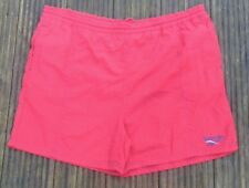 Vintage 90s Reebok Red Festival Swim Shorts Size XL
