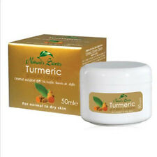 TURMERIC GOLD HERBAL Bleach Lightening Fairness face Cream 50ml Nature's Secret