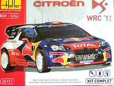 Heller 1:24 Citroen Ds3 Wrc'12 Rally Car Set de Regalo Model Kit