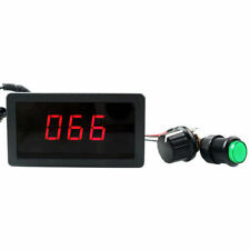 Digital Display Led 6V 12V 24V PWM DC Motor Controller Variable Speed Regulator
