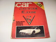 CAR       MAGAZINE       FROM   APRIL   1971     ENGLISH MONTHLY