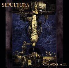 SEPULTURA 'CHAOS A.D. (US VERSION)' NEUWARE EIN MUSS!!!