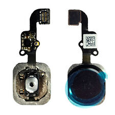 Black Home Button Flex Cable Assembly Replacement Fix for iPhone 6 Plus