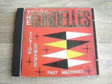 riot grrrl CD punk female power pop THE RONDELLES Fiction Romance Fast Machines
