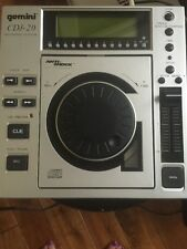 GEMINI CDJ-20 Top Loading Professional CD Player w/ Anti-Shock Buffer Memory Mod