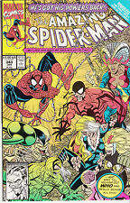 AMAZING SPIDERMAN 343...NM-...1991...Scorpion,Tarantula...Erik Larsen...Bargain!