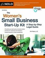 The Women's Small Business Start-Up Kit: A Step-by-Step Legal Guide, Pakroo J.D.
