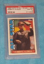 ROBERTO ALOMAR 1990 TOPPS TV ALL-STARS  #35 HALL OF FAME  PSA 10 ☆ SHARP POP 1/6