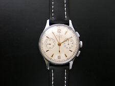 RARE POLJOT-STRELA cal.3017 MILITARY AIR FORCE Mens CHRONOGRAPH Watch 1950s