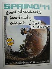 Dwindle BLIND enjoi Darkstar Almost Skateboard Catalogue 2011 Skate Art. Rare