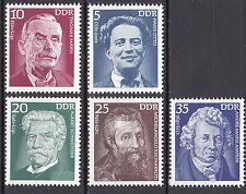 DDR 1975 Mi. Nr. 2025-2029 Postfrisch ** MNH