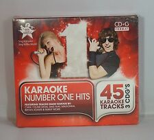 Cantate al mondo KARAOKE-numero 1 HITS 3 DISC BOX SET CD + Graphics