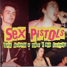 SEX PISTOLS Sex, Anarchy & Rock N' Roll Swindle ANARCHY RECORDS Sealed 180g LP