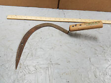 VINTAGE CHAMPION No. 15 TRUE TEMPER GRASS HOOK / SICKLE /SCYTHE